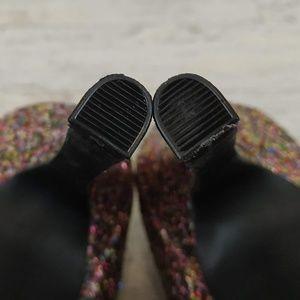e7b56f413 Candies Shoes - Candies Cayunnis Glitter Peep Toe Platform Pumps